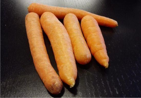 le carote in cucina