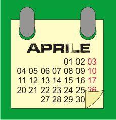 il calendario delle semine ad aprile