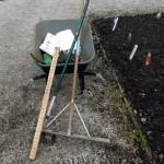 Disinfettare gli attrezzi dell'orto