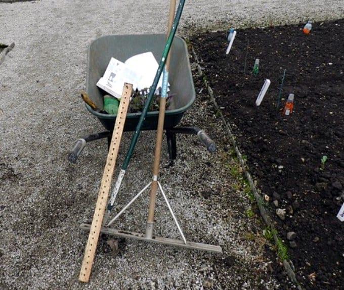 attrezzi da giardino