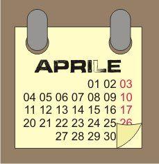 Aprile: i lavori dell'orto in primavera