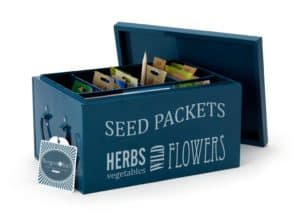 scatola per sementi