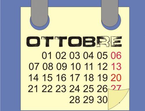 Ottobre 2016 calendario lunare delle semine