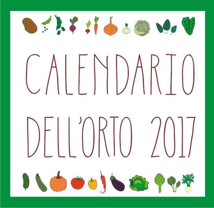calendario orto 2017
