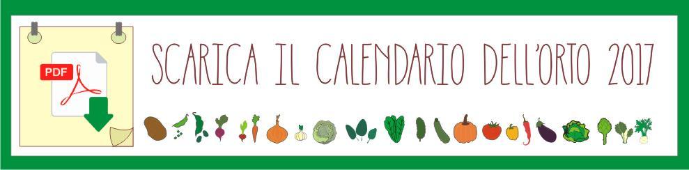 Calendario Trapianti Orto Pdf.Calendario Dell Orto 2017 Odc