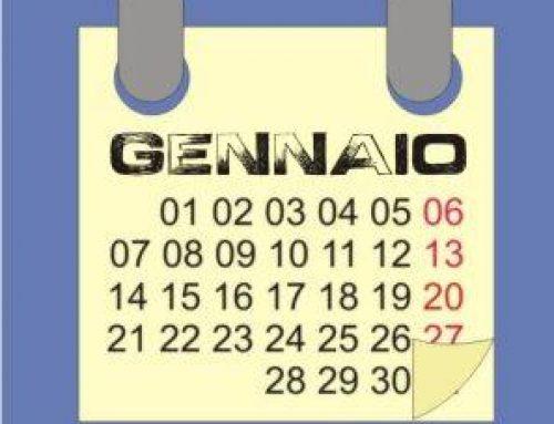 Gennaio 2017: calendario lunare, semine e lavori