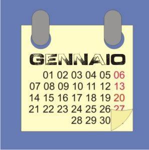 Gennaio 2021: calendario lunare, semine e lavori