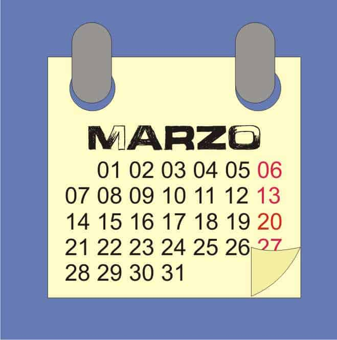 lunario marzo 17