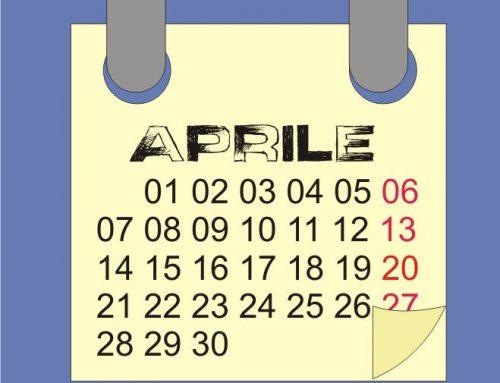 Calendario dell'orto di Aprile 2017: fasi lunari, semine e lavori
