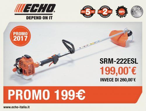 Decespugliatore Echo SRM-222ESL