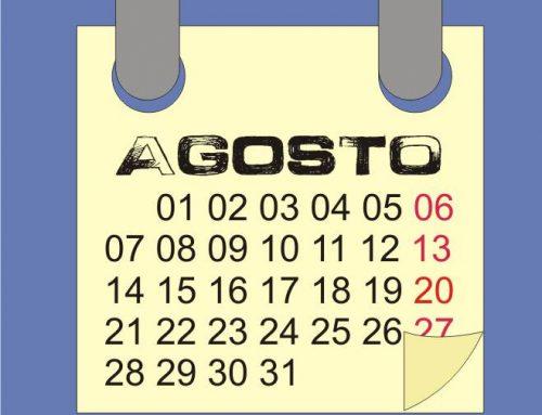 Agosto 2017: calendario lunare e semine