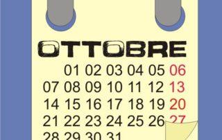 mese di ottobre 17
