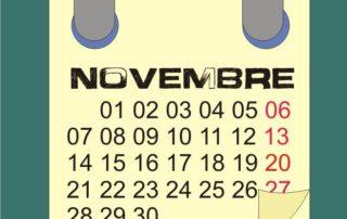 cosa trapiantare a novembre