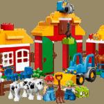 Giochi agricoli: la fattoria Duplo della Lego