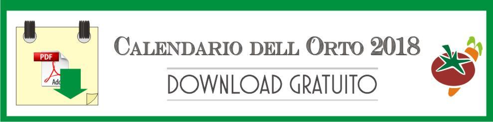 Calendario Trapianti Orto Pdf.Calendario Dell Orto 2018 Di Orto Da Coltivare