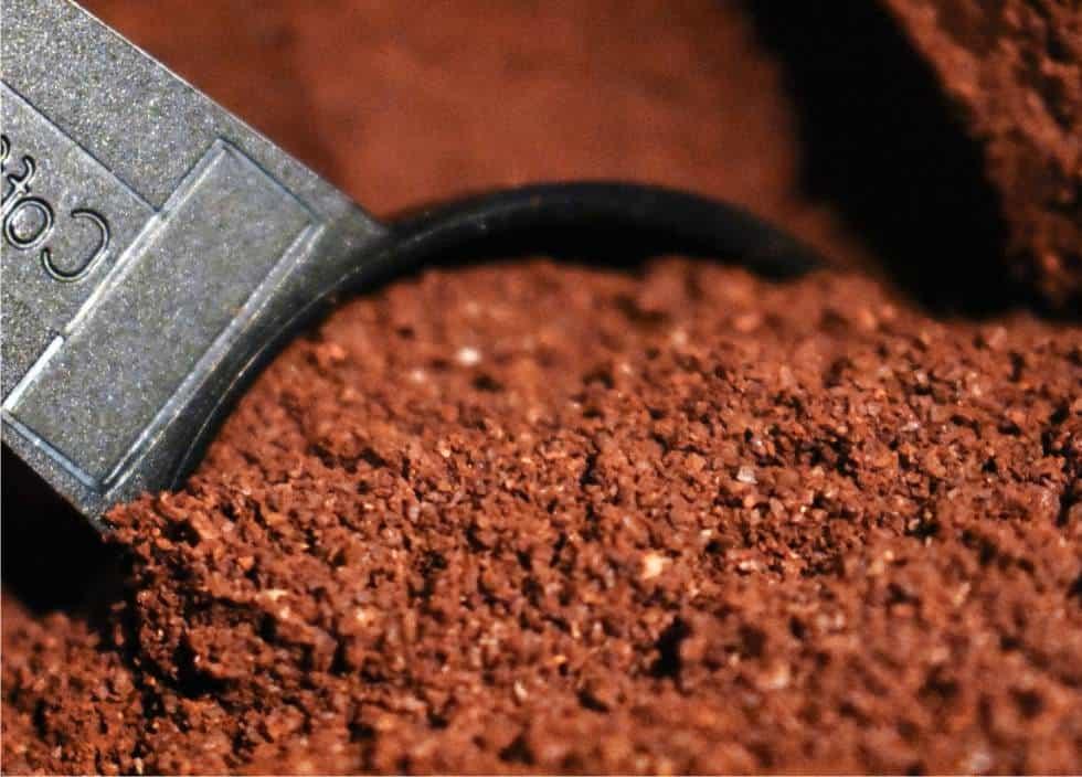 L'uso dei fondi di caffè nell'orto