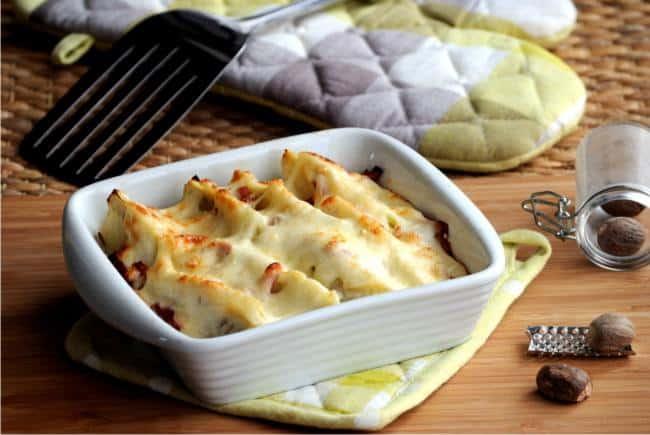 ricetta dei finocchi gratinati al forno con besciamella e sale