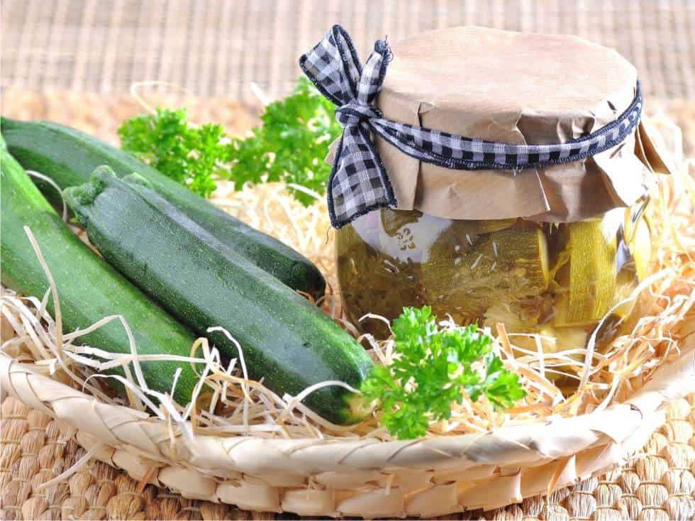 zucchine sottaceto