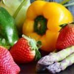 Verdure e frutta di stagione a giugno