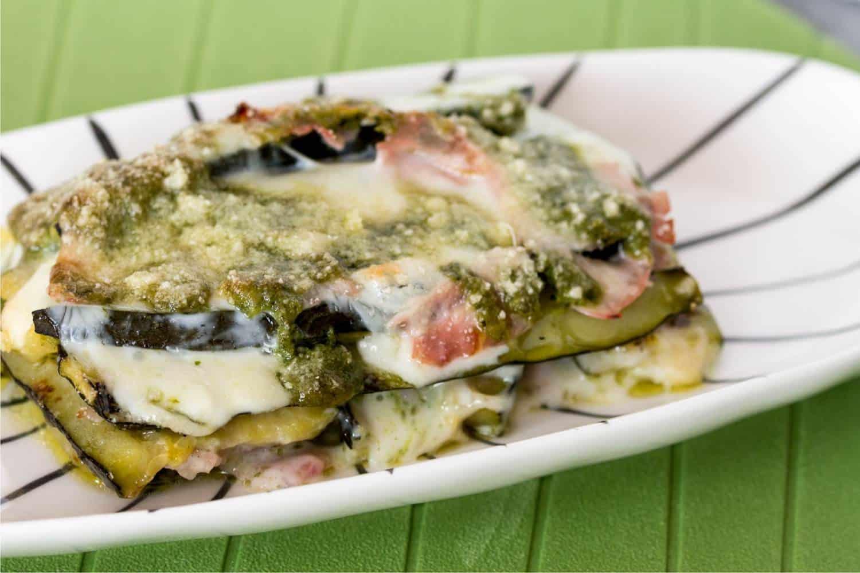 invitante parmigiana di zucchini