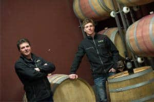 famiglia di viticoltori bio dell'Alto Adige