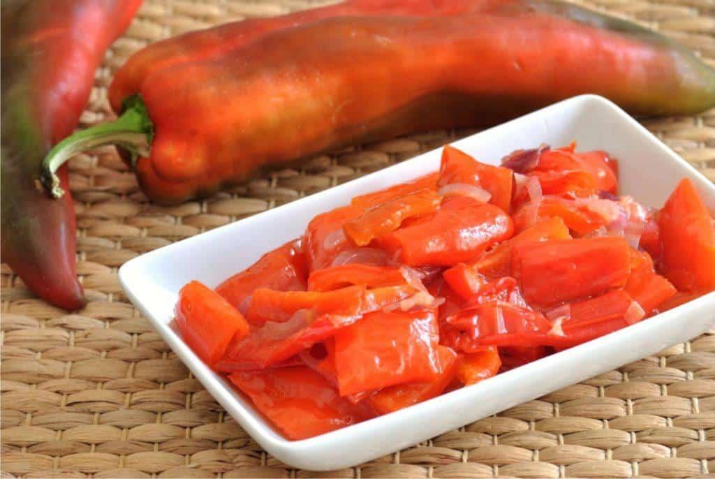 contorno agrodolce con peperoni
