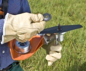 montaggio della lama