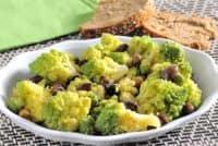 contorno al broccolo romano