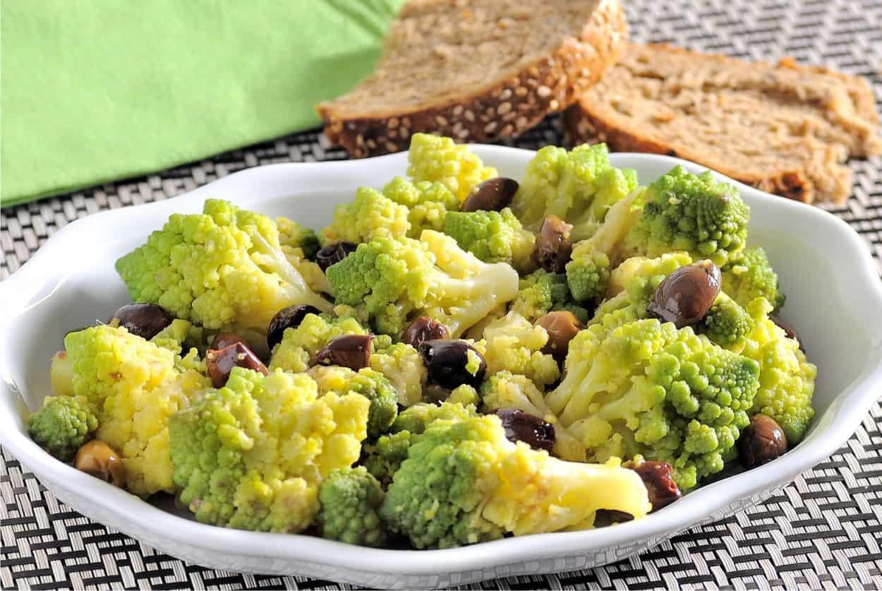 Broccolo romano saltato