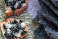 bruschette di cavolo nero