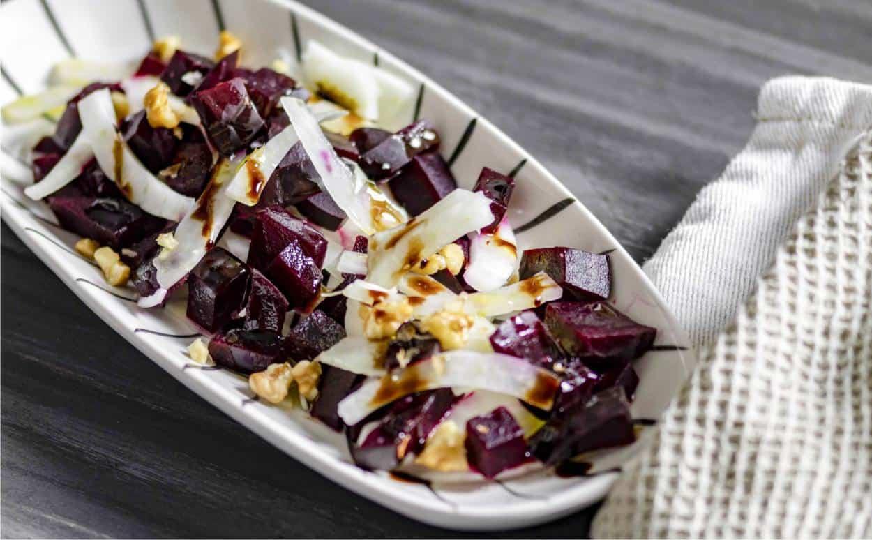 ricetta insalata di barbabietola