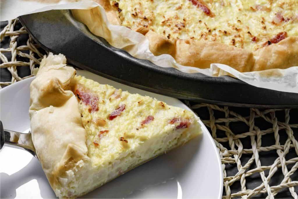 ricetta della torta salata con cavolfiore