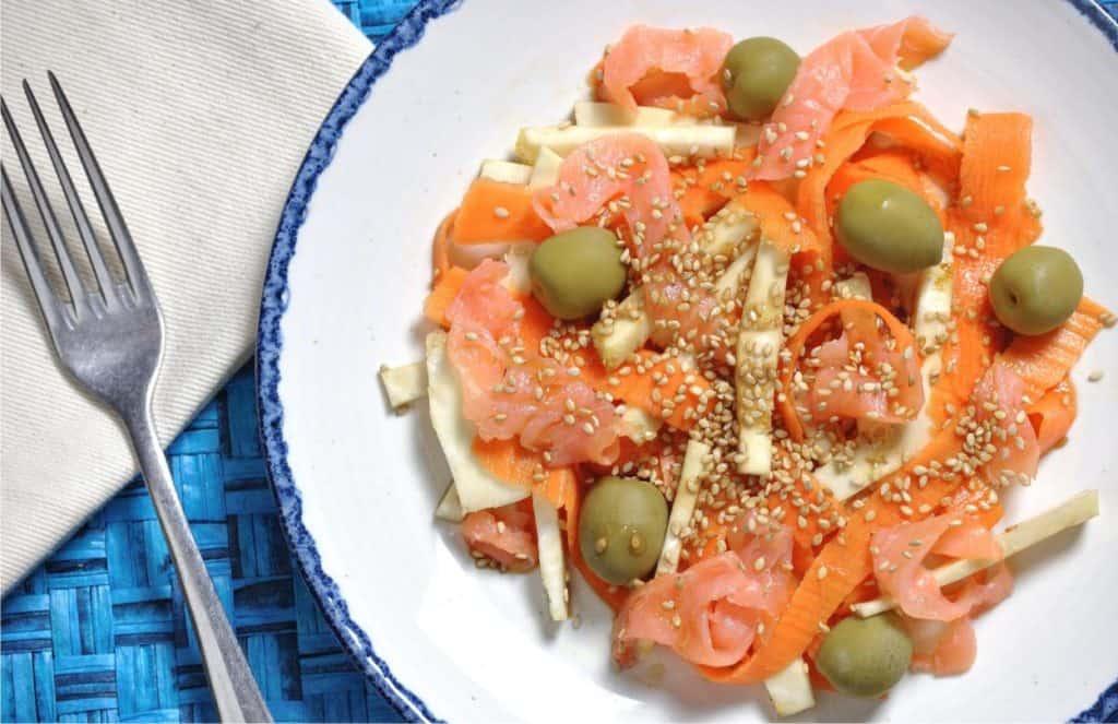 ricetta dell'insalata di sedano rapa