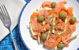 ricetta insalata di sedano rapa
