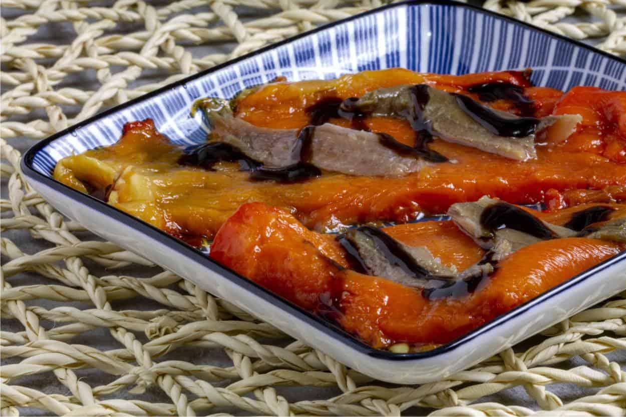peperoni arrostiti alle acciughe ricetta