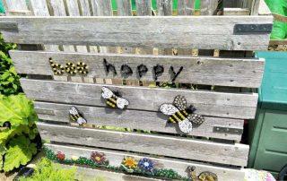 mosaico bee happy