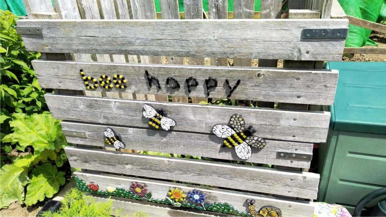 mosaico bee happy