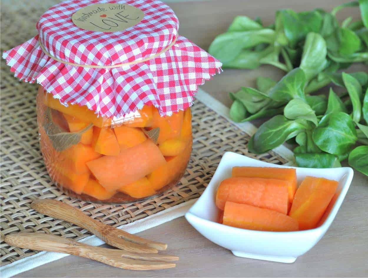 Carote in agrodolce: ricette in conserva