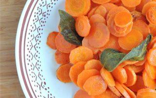 carote burro e salvia