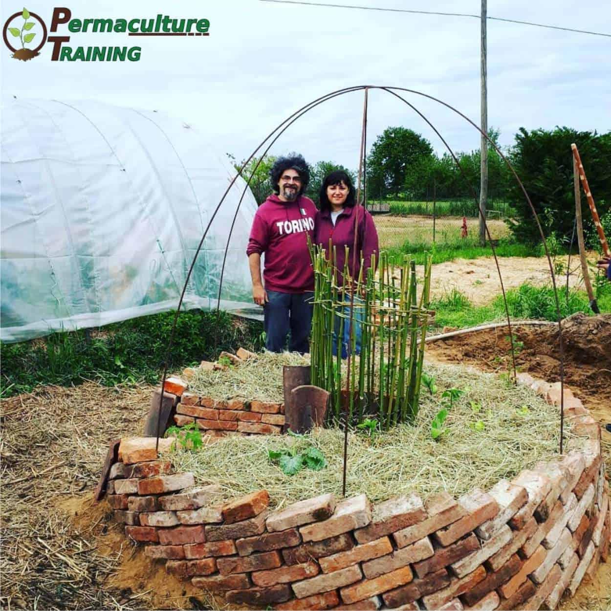 keyhole garden permacultura