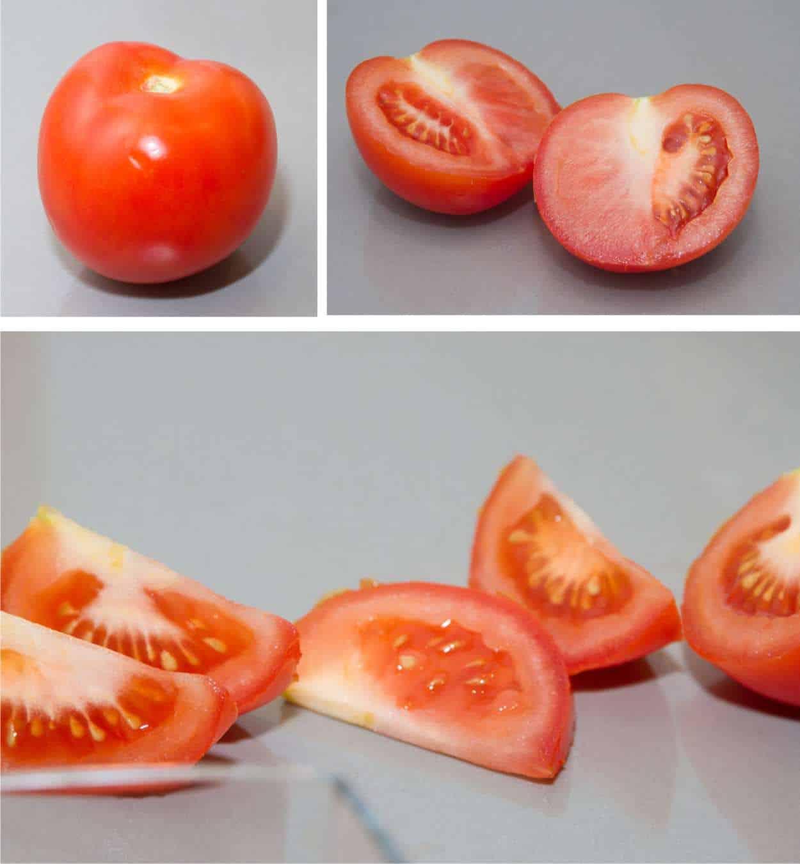 taglio del frutto