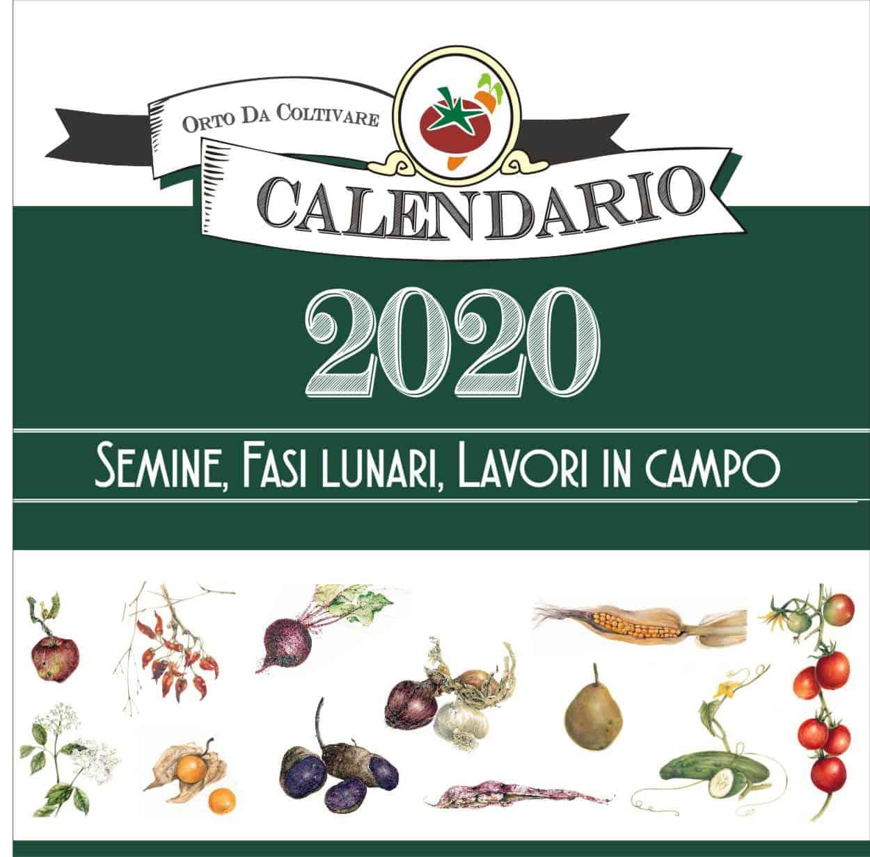 calendario botanico 2020