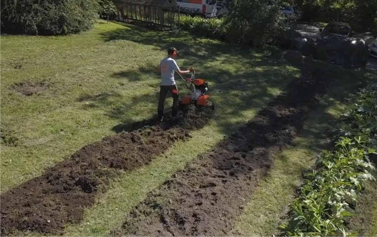 fresare un orto