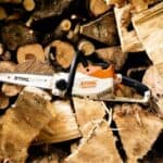 Tagliare una catasta di legna
