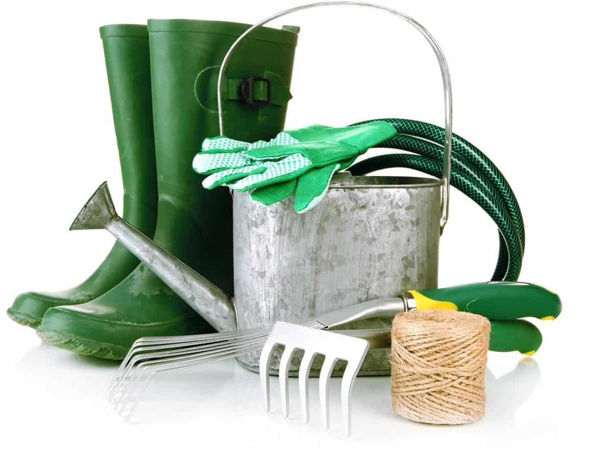 Gli strumenti per coltivare l'orto